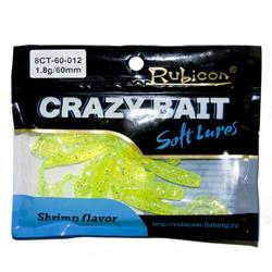 Съедобные силиконовые приманки Crazy Bait