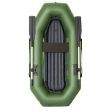 Лодка гребная надувная ПВХ Rubicon Стандарт R 220 с надувным дном