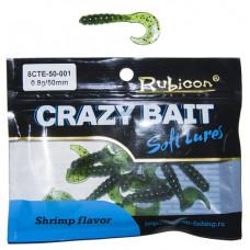 Съедобная силиконовая приманка RUBICON Crazy Bait CTE 0.8g