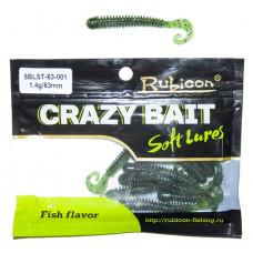 Съедобная силиконовая приманка RUBICON Crazy Bait BLST 1.4g