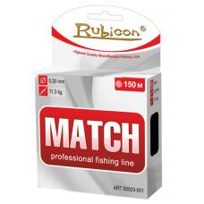 Леска RUBICON Match 150m (grey)