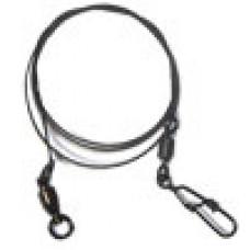 Набор вольфр. поводков RUBICON 12kg, 15-20-25cm, 72шт (застежка Hooked/вертлюг Rolling)