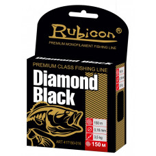 Леска RUBICON Diamond Black 150m