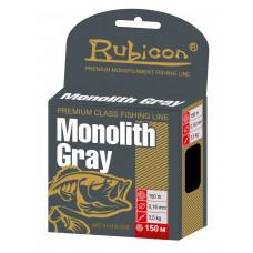 Леска RUBICON Monolith Gray 150m