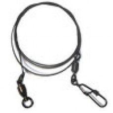 Набор вольфр. поводков RUBICON 15kg, 15-20-25cm, 72шт (застежка Hooked/вертлюг Rolling)
