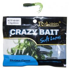 Съедобная силиконовая приманка RUBICON Crazy Bait CTF 0.9g