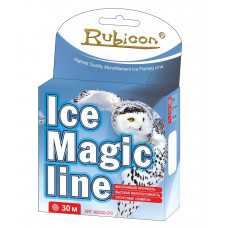 Леска зимняя RUBICON Ice Magic Line (steel gray) 3
